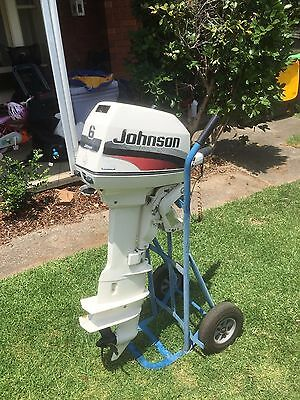 Johnson 6Hp Outboard Motor