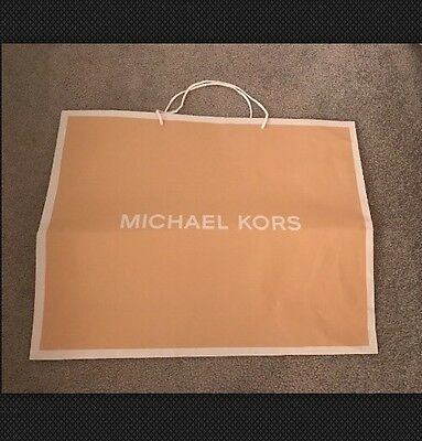 65b1cd0e MICHAEL KORS XXL Paper Retail Shopping Bag Signature Gift Bag 24