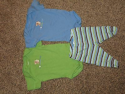 Gymboree lot of 3 baby Boy Size 0-3 month shirts and pants