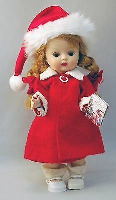 """Muffie Doll by Nancy Ann 8"""" Vintage 1950s with Miniature 1956 Sears Wishbook"""