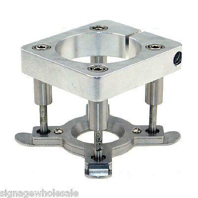 Diameter 80mm Automatic Fixture Clamp Plate Device for 1.5KW/2.2KW Spindle Motor