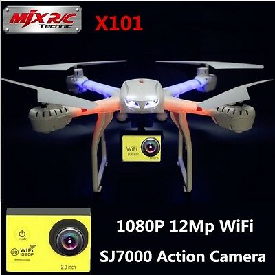 Professional MJX X101 Big Drone With 1080P Wifi FPV Real Time Camera Quadcopter