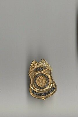 """US Department of State Diplomatic Security Special Agent 1"""" Mini Badge Pin"""