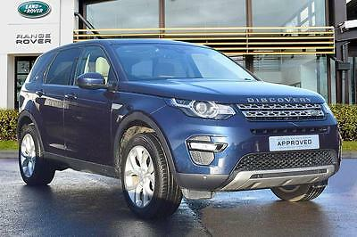 2016 Land Rover Discovery Sport TD4 HSE Diesel blue Automatic