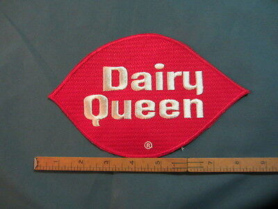 Large Vintage DQ Dairy Queen Back Patch