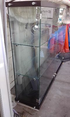 Display Unit  with locks and lights