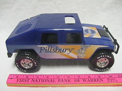 Pillsbury Doughboy Nylint Collectible Rare Hummer Toy Truck w Sounds Pre-owned