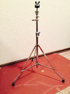 """Rogers Drums Swivo Swan-leg Cymbal Stand Rare """"Split Collet"""""""