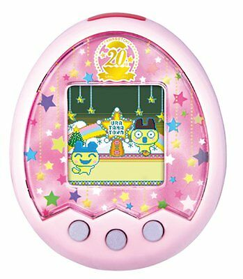 Tamagotchi m!x 20th Anniversary ver. Royal Pink (Free shipping to US)