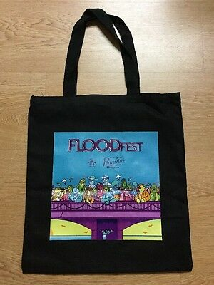 SXSW FLOODFEST Collectible Canvas Tote Bag FLOOD Magazine
