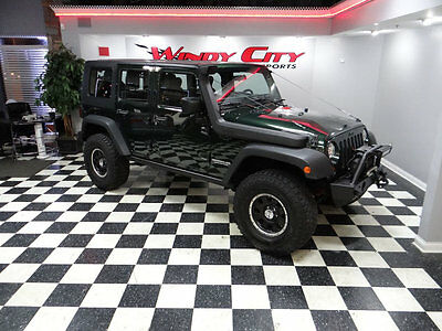2010 Jeep Wrangler 4WD 4dr Mountain 2010 Jeep Wrangler Unlimited 4x4 Mountain Edit. Freedom Hardtop Lift Kit Winch!