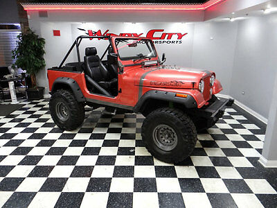 1991 Jeep Wrangler Base Sport Utility 2-Door 1991 Jeep Wrangler 4x4 4.0 5-Speed Roll Cage Custom Paint Lift Kit & MUCH MORE!