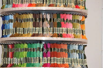 DMC Cross Stitch/Embroidery Threads (4) Assorted Colours PYO Colour
