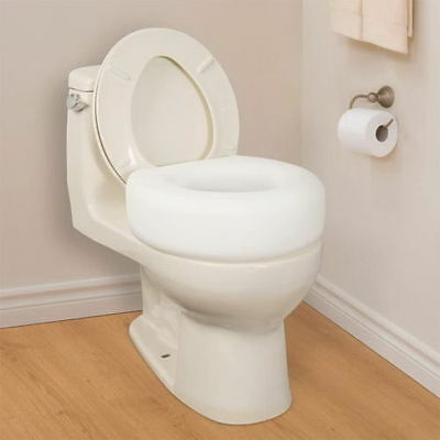 RAISED Toilet Seat Elevated Portable Disability Restroom 4\