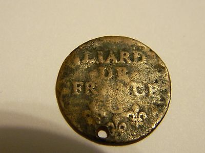 Old Unknown French Coin