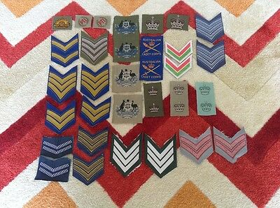 Australian military patches