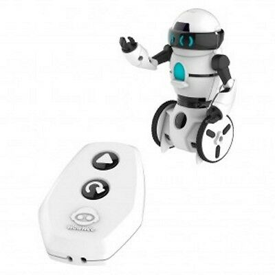WowWee MiP RC Mini Ed Remote Control Robot WHITE **FREE FAST EXPRESS DELIVERY**