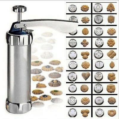 Biscuit Cookie Press Maker Machine Kitchen Baking Cake Pastry With Mold Tools