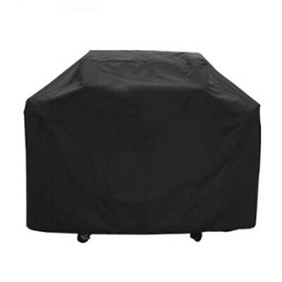 Black BBQ Gas Waterproof Cover Outdoor Barbecue Heavy Duty Grill Protector S M L