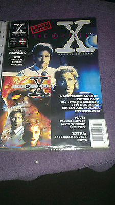 the x files issue 2 july 1995 free post card included