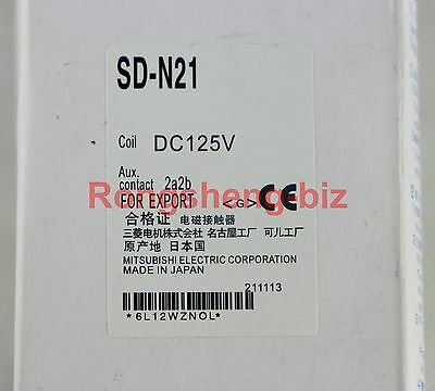 New MITSUBISHI DC contactor SD-N21 SDN21