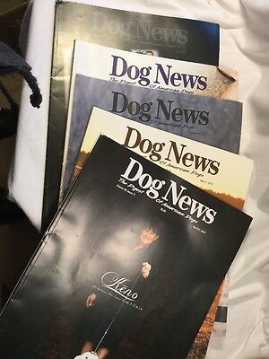 Dog News - 5 Issues 2012 - Digest Of American Dogs