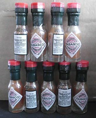 MINI TABASCO   ( RED or GREEN )  from GENUINE US MRE & BRITISH ARMY RATION PACK