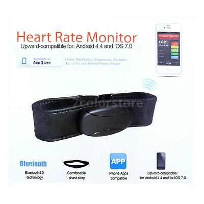 Bluetooth 4.0LE Wireless Heart Rate Monitor Smart Sensor Chest Strap Useful D7A7