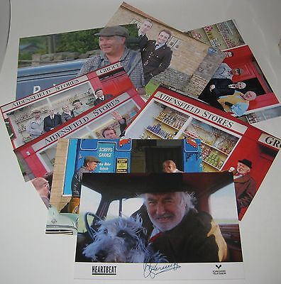 HEARTBEAT TV POST CARDS x 8 David Bernie Claude Oscar PC Rowan  Aidensfield UK