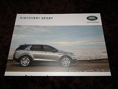 Land Rover Discovery Sport Brochure 2016/2017 - SE Tech, HSE Black - 104 pages!