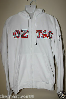 OZ Tag Football LGE Cotton Blend Full Zip Hoodie by RAMO