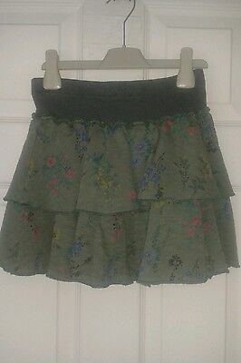 Girls Green Skirt New With Tags Next Age 11