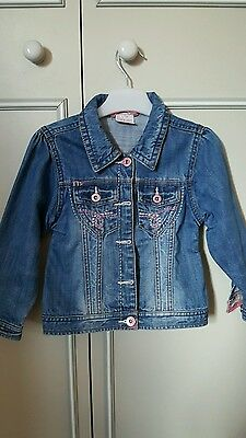 Next girls jean jacket age 3-4