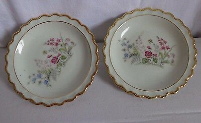 2 small pin dishes - winterling marktleuthen bavaria