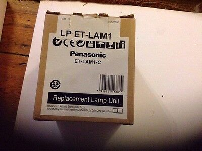 PANASONIC Projector Lamp ET-LAM1-C Replacement Bulb with Replacement Housing