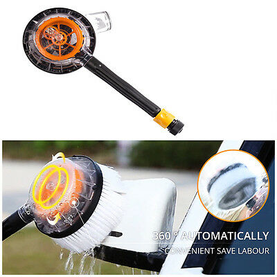 1X New HOT  Wash Brush Auto Rotation Car Truck Vehicle Cleaner HOT