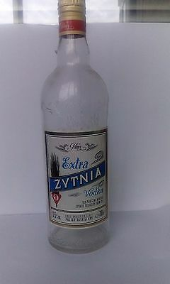 Vodka Zytnia Polish  700Ml Bottle Empty