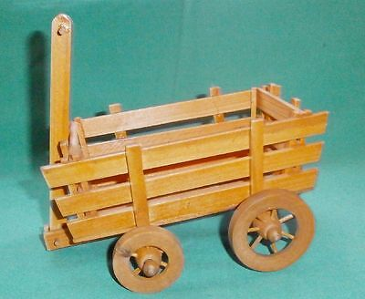 decorative wooden handcart /Collectables