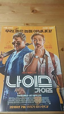 """MOVIE POSTER """"The Nice Guys"""" /  FILM FLYER (A4 size)"""
