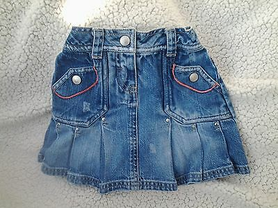 Next - Girls Denim Skirt - Age - 2-3 Years