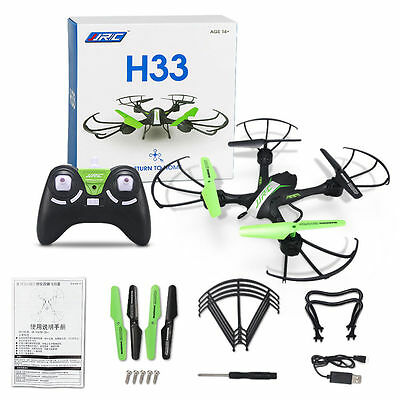 JJRC H33 Helicopter 4CH 6Axis LED Headless 360°Flip RC Drone Quadcopter Mini RTF
