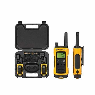Motorola TLKR T80 Extreme IPX4 Rugged All Weather Two Way Radio Twin Pack PMR446