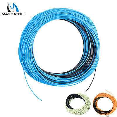 Maxcatch WF5/6/8F/S Weight Forward Floating Sinking Tip Fly Line Blue/Black 6ips