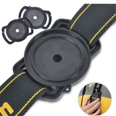 Lens Cap Holder Buckle Keeper For 72mm 77mm 82mm Nikon Canon Sony Pentax Camera