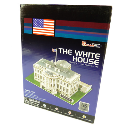 CubicFun - 3D Puzzle - The White House - Weisses Haus - Kinder Spielzeug Modell