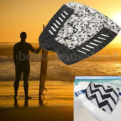 3pcs Tail Pad Surfboard Surfing Deck Grips Traction Stomp surf Mat EVA Adhesive