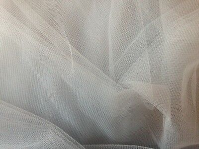 Soft Grey Tulle, Veiling, Soft Grey Tulle for flower girl and baby dresses.
