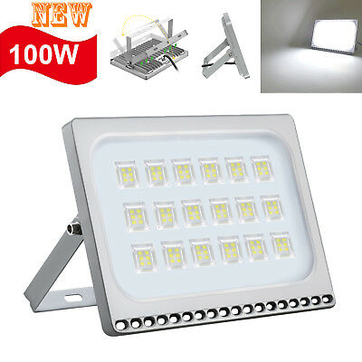 2X 80W LED PIR Sensor Flood Light Warm White Outdoor Path Security Lamp 85-265V