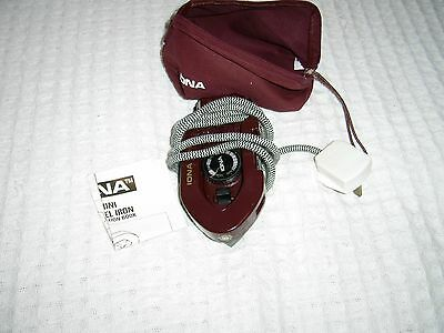 mini travel iron by ionic new in bag