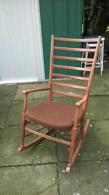 Mid-Century Retro Danish Rocking Chair
